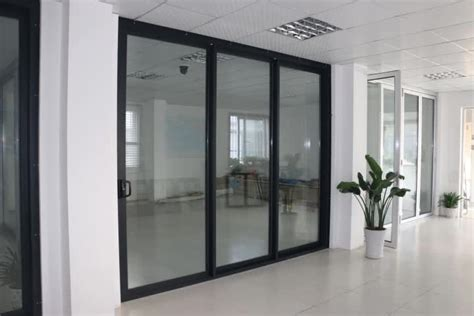 air tight sliding door 3 panel sliding glass door