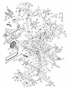 Proform Pfex013120 Parts List And Diagram   Ereplacementparts Com