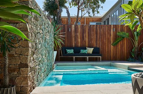 tropical wall grove plunge pool king 39 s landscaping