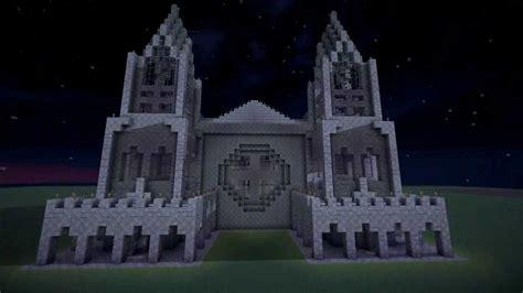 1) Bauideen Minecraft Kathedrale Kreativmodus [1080p