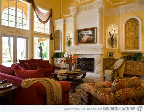15 Stunning Tuscan Living Room Designs