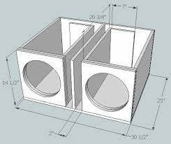 subwoofer box design for 12 inch - Google Search | System ...