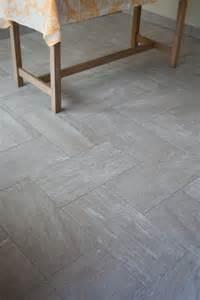 Large Format Tile Herringbone