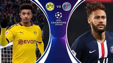Match Day: Borussia Dortmund vs PSG Prediction & Match ...