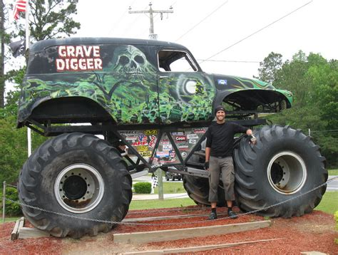 old grave digger monster truck political pistachio january 2013