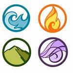 Elements Rana Four Alda Deviantart Symbols Element