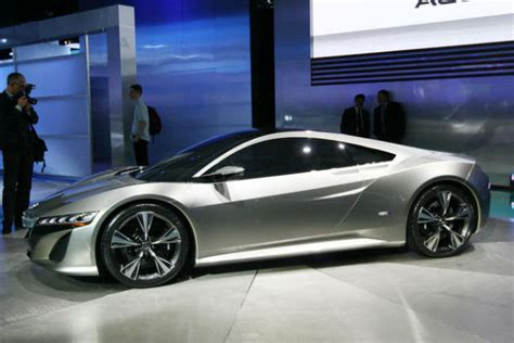 top speed honda acura nsx concept