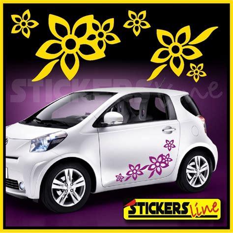adesivi auto fiori kit di adesivi fiori 2 smart fiat 500 car flowers stickers