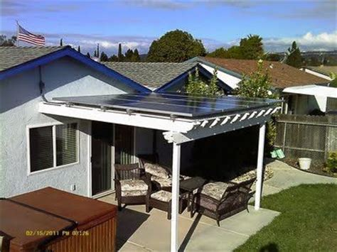 solar panel pergola for the home juxtapost