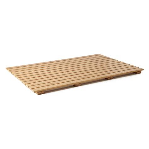 bamboo shower mat 36 quot x 24 quot rectangular bamboo bath mat bathroom