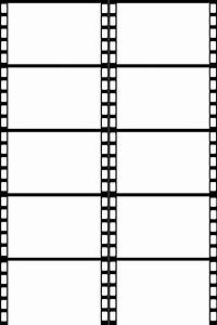 Filmstrip Template Clipart Best