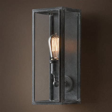 loft light box wall sconce 9816 browse project lighting