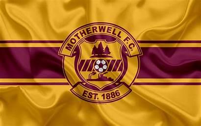 Motherwell Football Fc Scottish Club Scotland Flag