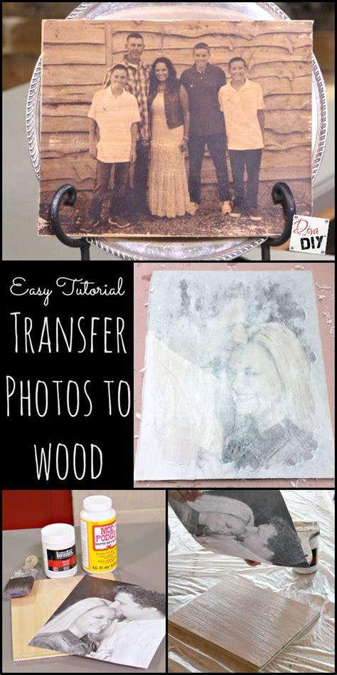 photo ideas   create  wood transfer  ease