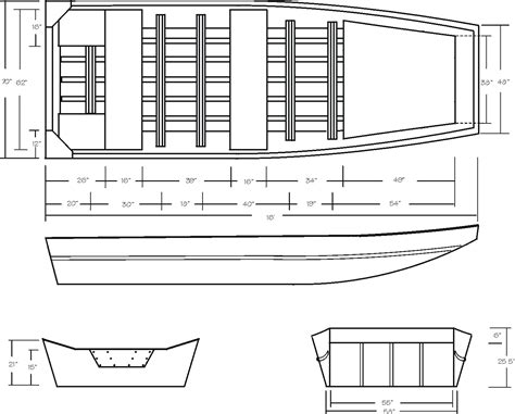 plans  wood jon boats    diy building
