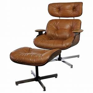 Eames Chair Lounge : mid century modern plycraft eames style lounge chair and ottoman at 1stdibs ~ Buech-reservation.com Haus und Dekorationen