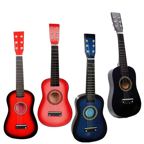 guitar colors 23 quot beginners practice acoustic 4 colors guitar with