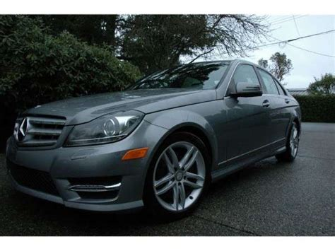 The final sale price will likely be less depending on the vehicle's actual condition, popularity, type of warranty offered and local. 2013 Mercedes Benz C300 4MATIC Sedan For Sale Vehicles from Victoria British Columbia Greater ...