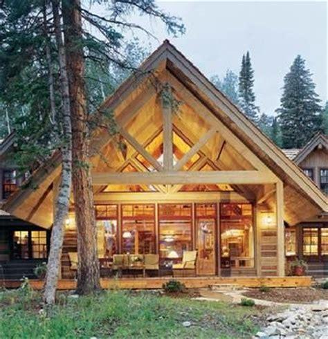 maison bois en kit maison en bois hiver nature et neige