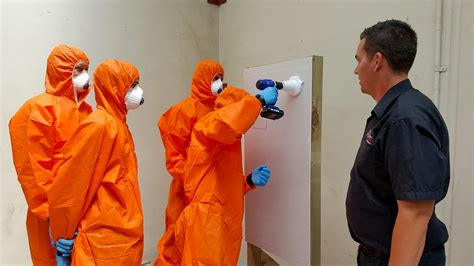asbestos removal class  safety  action