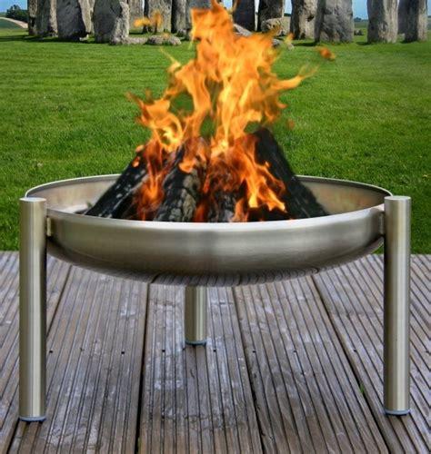 Feuerschale Mobiles Lagerfeuer Fuer Die Terrasse by Feuerschale Edelstahl Rostfrei 80 Cm Ricon Grill Shop