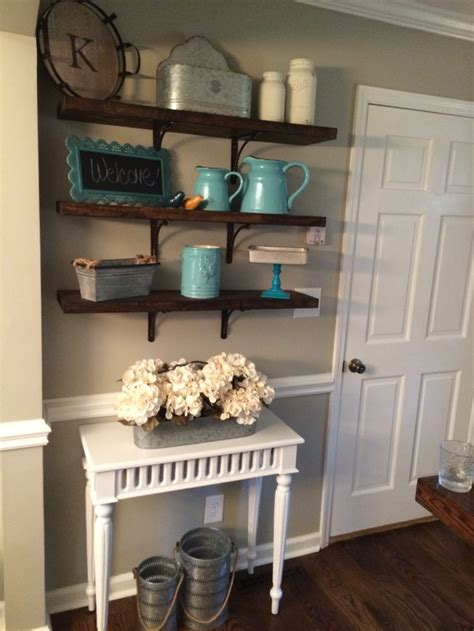 country vintage home decor 40 diy rustic open shelving country chic vintage home