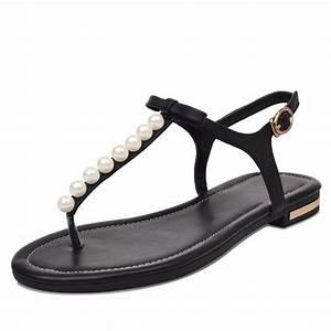 Sgesvier 2018 High Quality Genuine Leather Women Sandals