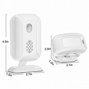 113db High Sensitivity Wireless Pir Motion Sensor Alarm