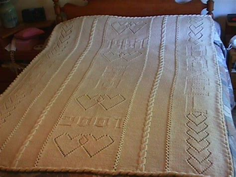 Crochet Pattern Wedding Afghan ~ manet for