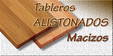tablero alistonado de madera maciza maderas hermanos guillen