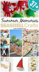 37  Sea Shell Craft Ideas - Red Ted Art
