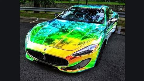color changing chrome compilation  exotic super cars  vinyl wrap zaltra motorz youtube