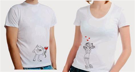 Camisetas para novios ¡para que demuestren su amor a todos