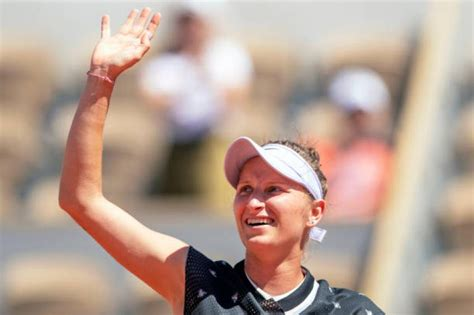 Marketa vondrousova is a name that tennis players always look out for in a draw. Marketa Vondrousova: 'I love Roger Federer but I have no ...