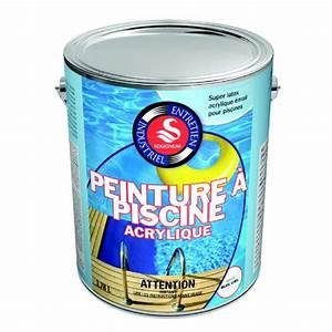 Peinture Pour Piscine : peinture pour piscine 3 78 l rona ~ Nature-et-papiers.com Idées de Décoration