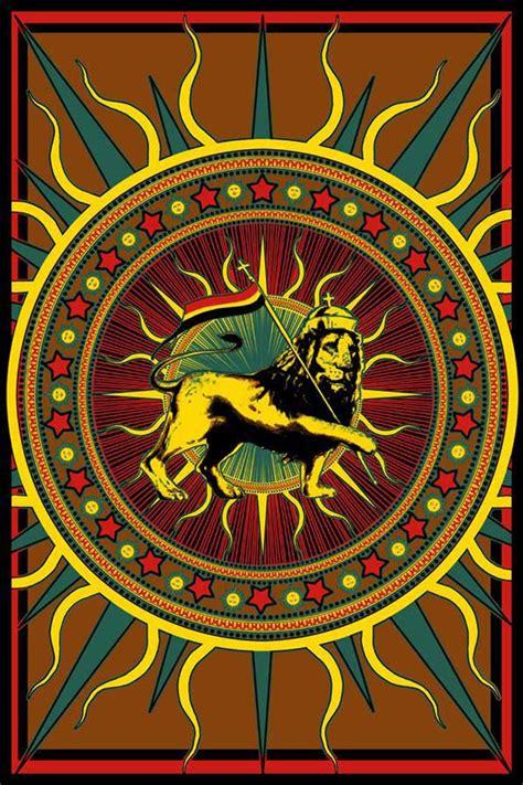 rasta lion  flag tapestry wall hanging
