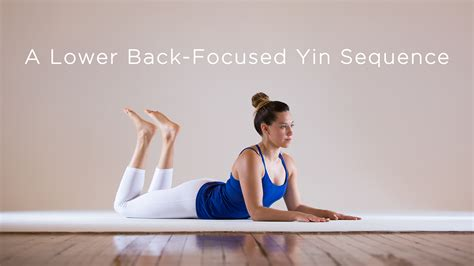 The focus is on proper alignment of the joints, connective tissues a more advanced practitioner may be able to hold a pose for up to 5 minutes. A Lower Back-Focused Yin Sequence | Yoga International