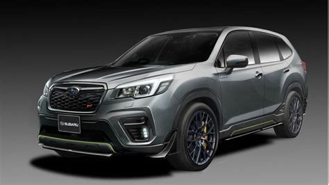 Subaru Unveils Sti Forester And Impreza Concepts Ahead Of