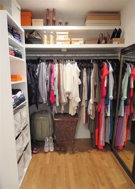 small walk in closet ideas for optimizing your minimalist