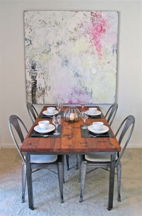 industrial dining room  masculine interiors home