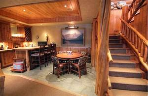 47 Cool Finished Basement Ideas (Design Pictures