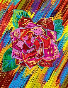 Creative Colorful Easy Drawings Flower Drawings From