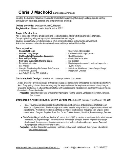Resume And Project List By Chris J Machold At Coroflotcom