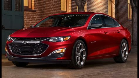 2019 Chevy Malibu  Fresh Styling And New Rs Trim To Fight