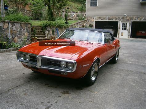 1967 Pontiac Firebird Convertible Not Camaro