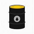 Barrel, crude, gas, logo, oil, petroleum, power icon