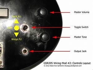 Ca Gear Blog  Ibanez Gsr205 Wiring Mod  2