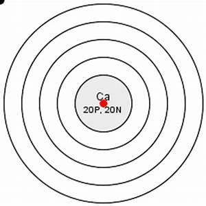 draw the atomic diagram of calcium - 10864273 ...
