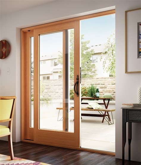 thin frame sliding glass doors style series milgard