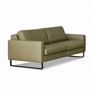 Schöner Wohnen Kollektion Sofa : sch ner wohnen sofa timeless gr n leder online kaufen bei woonio ~ Orissabook.com Haus und Dekorationen